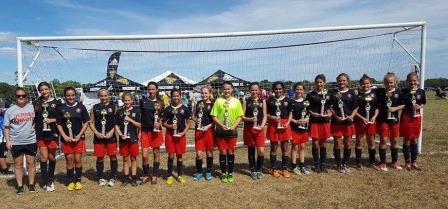 JK Fury U13G Win Piscataway Tournament!
