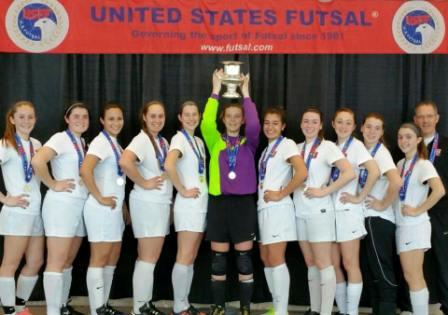 U17 Daggers Head to California for the Futsal National Championship!